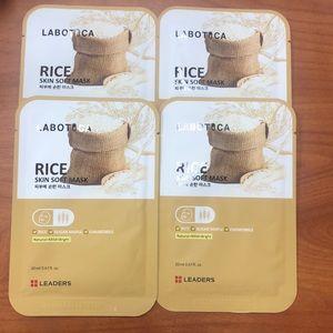 Leaders Labotica Rice Skin Soft Face Masks